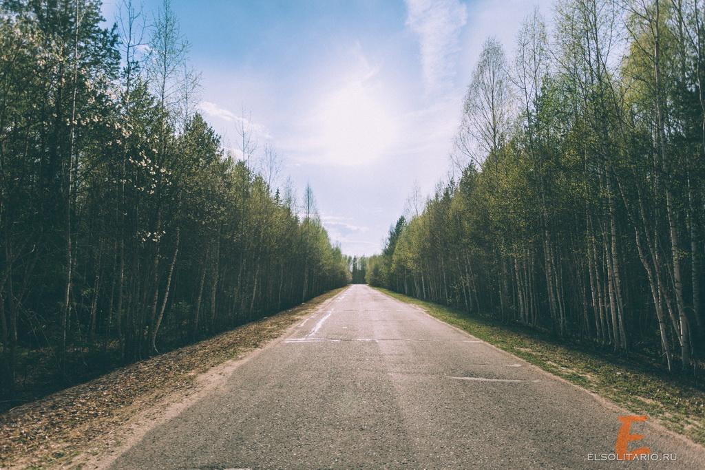 Дорога на Озеро Таир